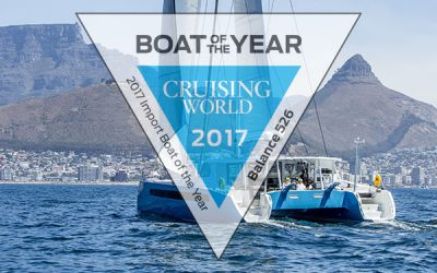 Balance 526 Wins Cruising World Boat of the Year